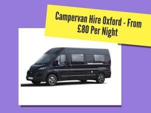 campervan hire oxford