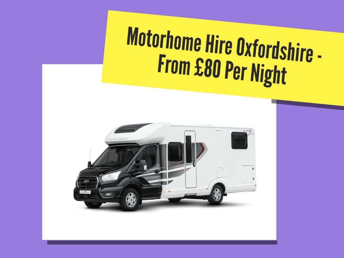 motorhome hire oxfordshire
