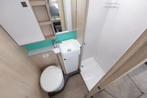Campervan Hire - F72 Bathroom
