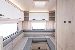 Campervan Hire - F72 Rear Lounge