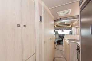 Campervan Hire - F72 Wardrobe