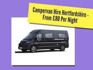 campervan hire hertfordshire