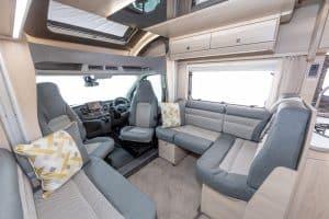 Luxury Motorhome Hire - F72 Lounge