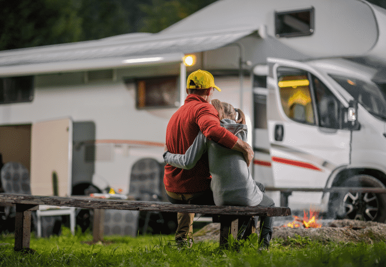 campsites top open on 12th of April 2021