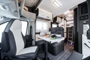 luxury campervan hire