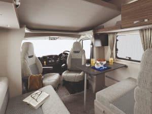 Campervan Hire Swift Edge 494 Lounge