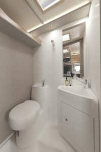 motorhome hire swift edge 494 bathroom