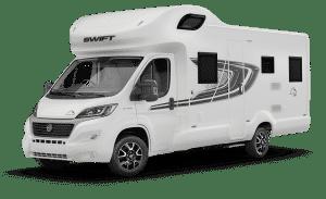 4 berth campervan hire buckinghamshire swift edge 494