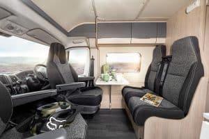 Campervan Hire 4 berth motorhome hire expedition 68