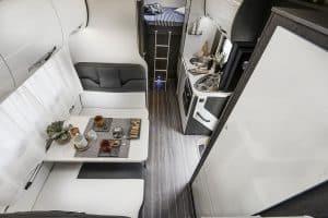 6 berth campervan hire Rollerteam Zefiro 675 rear view
